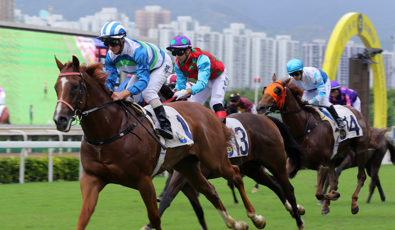 Voyage Warrior holds off all challengers to win easily at Sha Tin on Sunday.