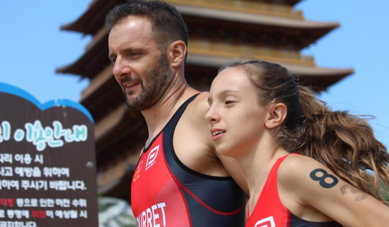 Asia Triathlon Championship golds for father and daughter duo as parent acts as 'mentor, not coach'
