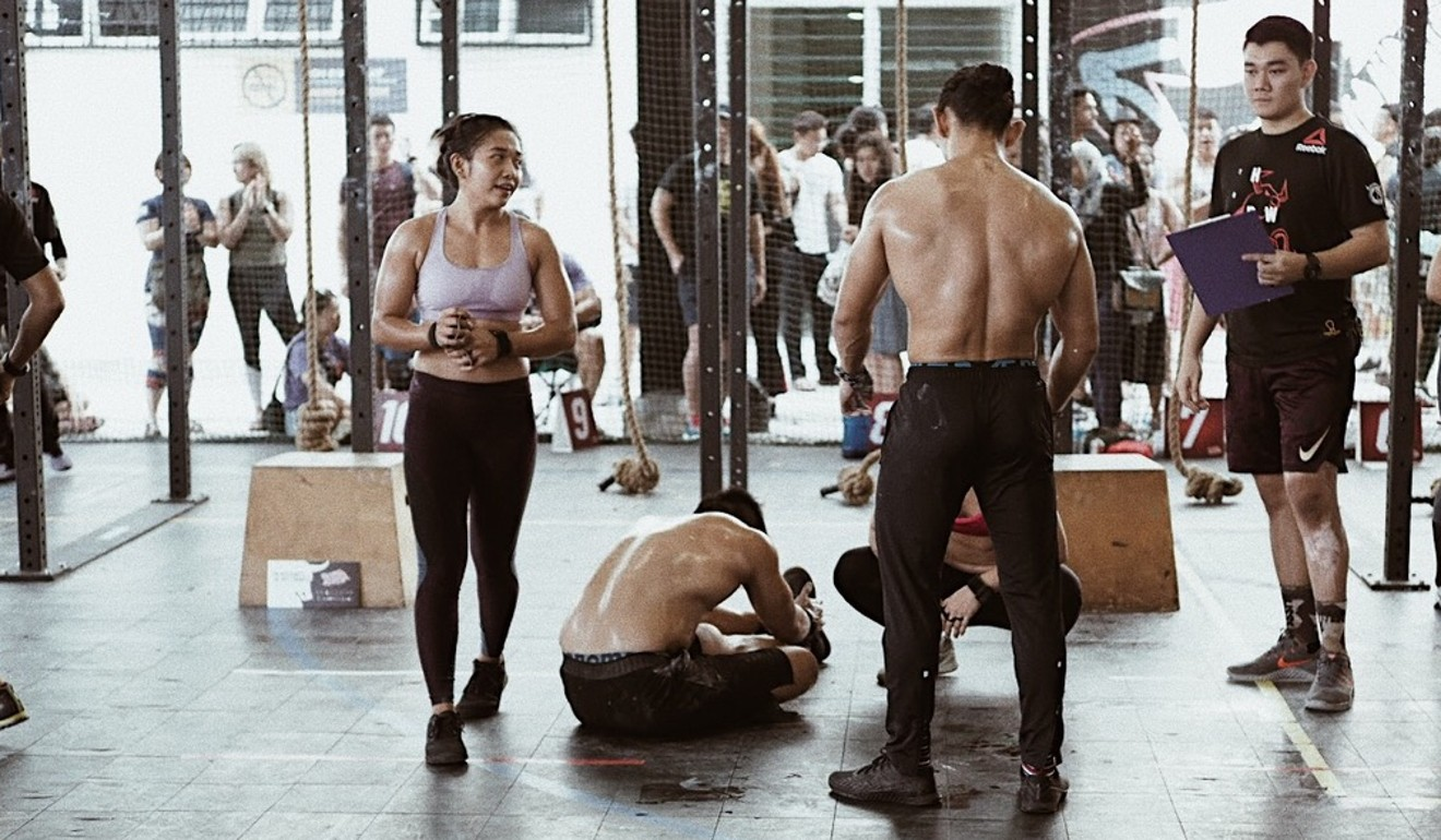 Amira Ayob, left, said she hopes to break stereotypes of women in Malaysia by competing at the 2019 CrossFit Games. Photo: Handout