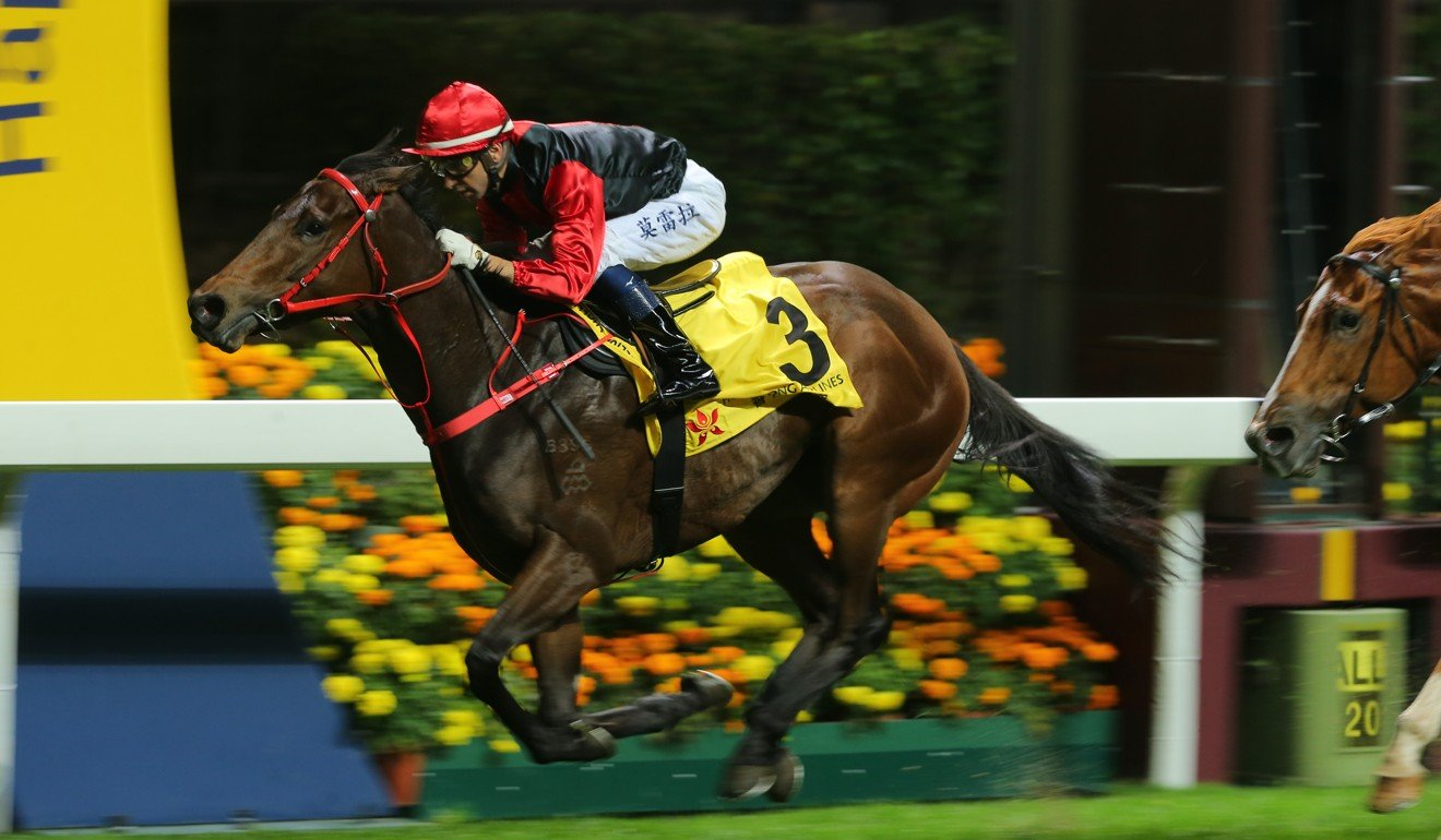 Country Star wins easily at Happy Valley.