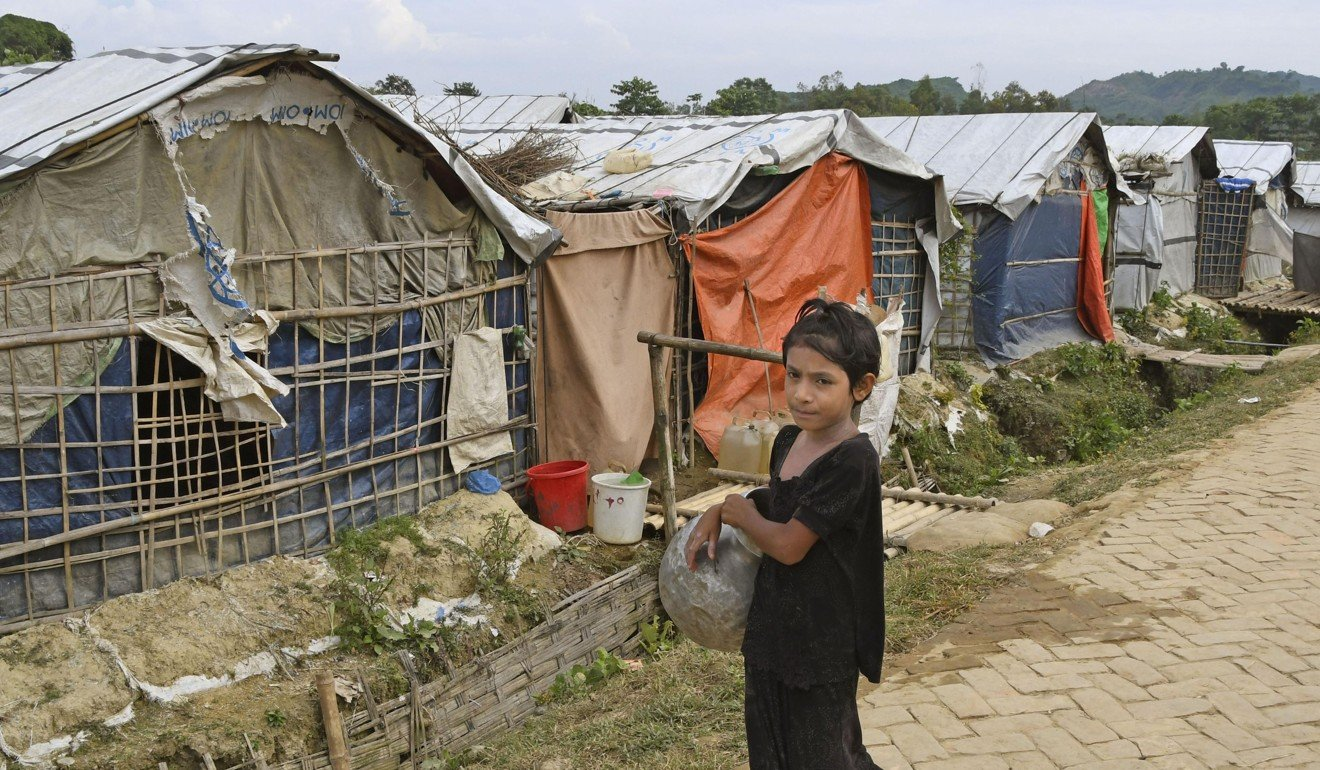 A Rohingya refugee camp in Cox's Bazar, Bangladesh. Photo: Kyodo