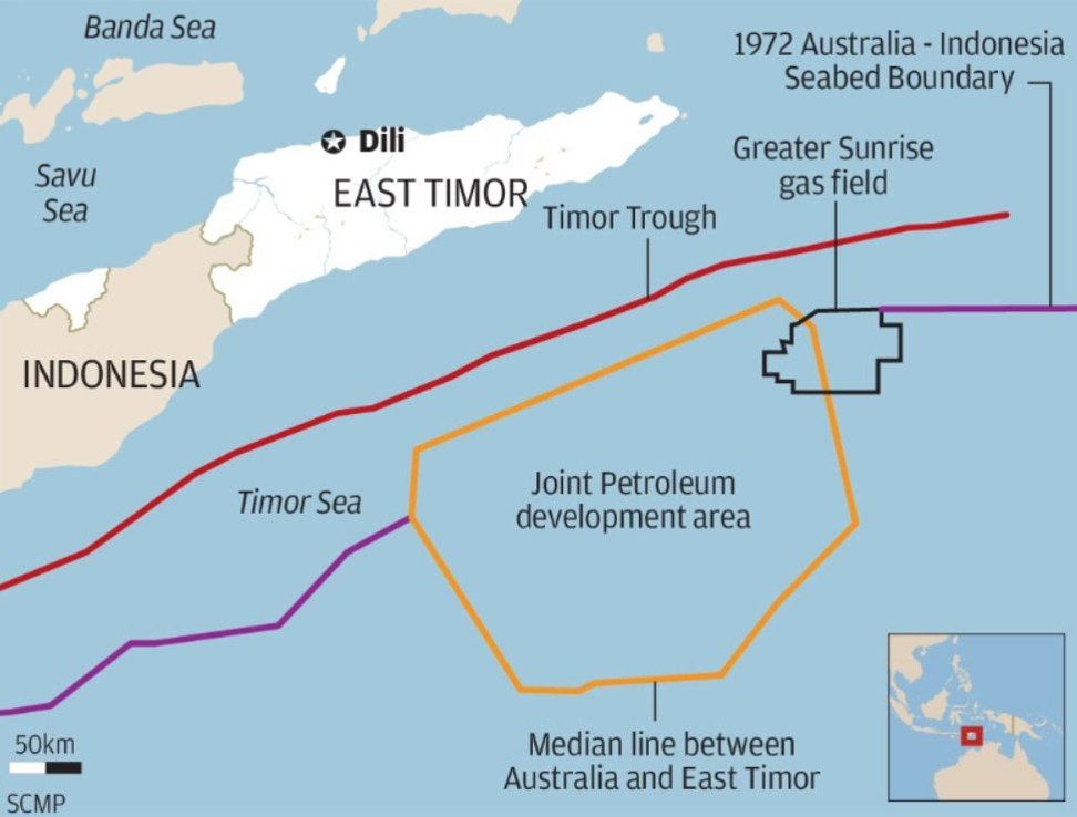 East Timor gas company denies US$16 billion loan from Chinese bank but reports are enough to unsettle Australia