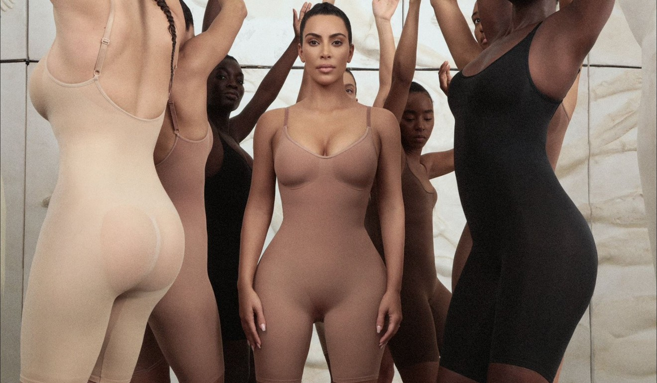 Kim Kardashian has trademarked the word 'Kimono' for her new shapewear line. Photo: Twitter