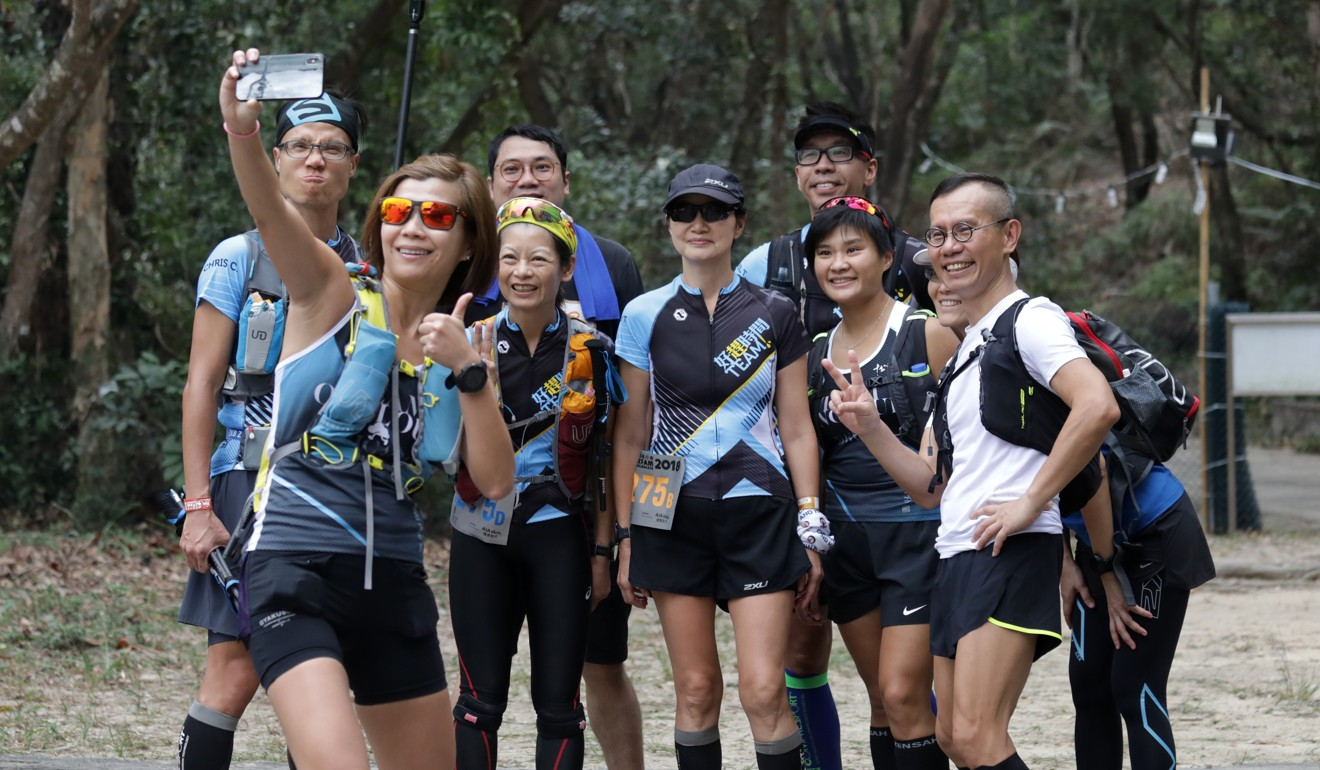 Trail runners are self-sufficient but pride themselves on a sense of community. Photo: Tory Ho