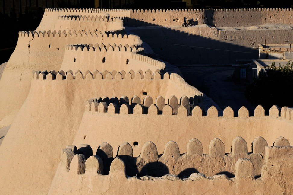 A fort in Khiva, Uzbekistan. Photo: Alamy