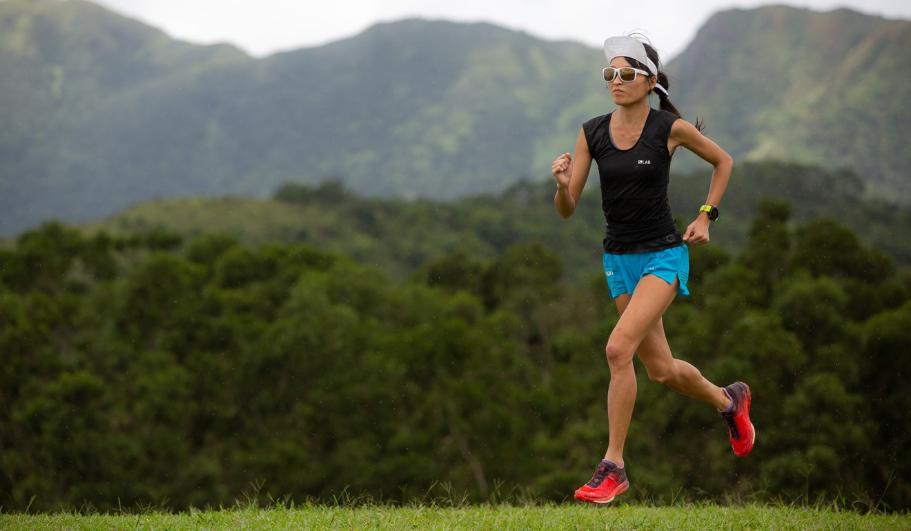 Janice Cheung does not even like running, but she wants to see where here limit is. Photo: Alan Li/@we_run_we_photo