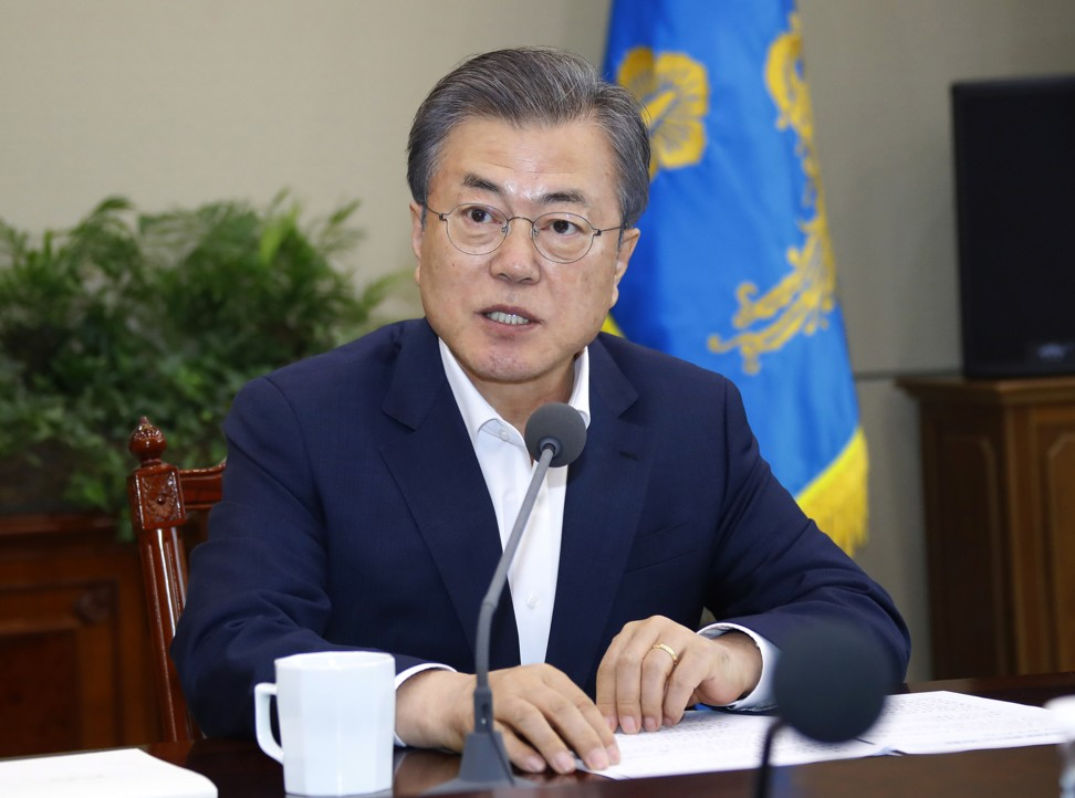 US and North Korea in behind-the-scenes talks over third summit, South Korea's Moon Jae-in says