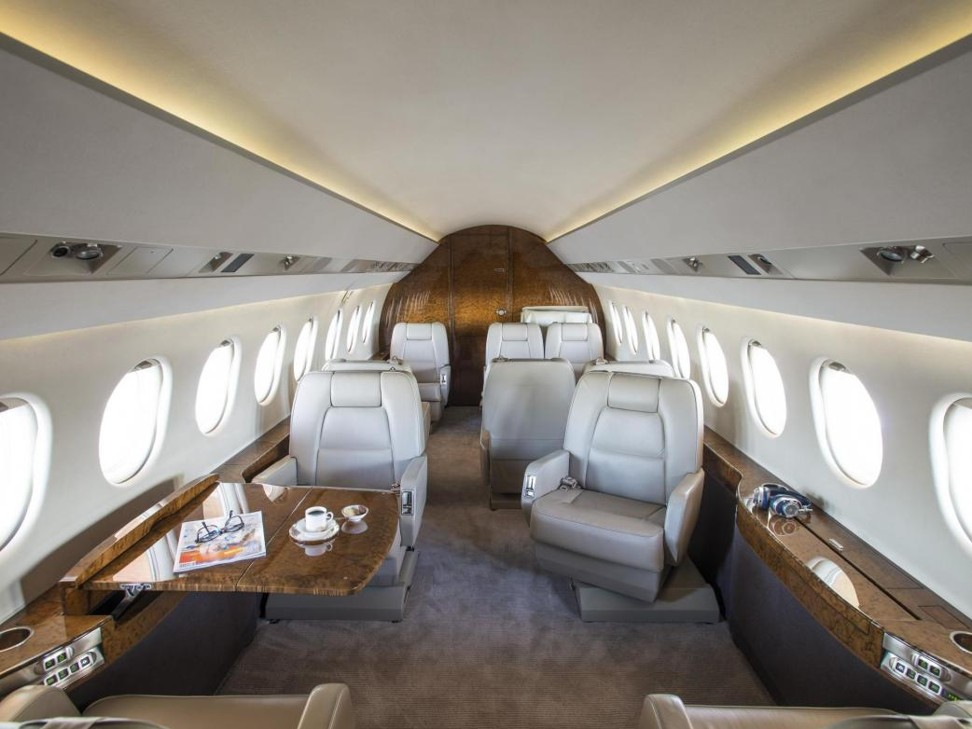 What's it like to fly by private jet? Two words … no words