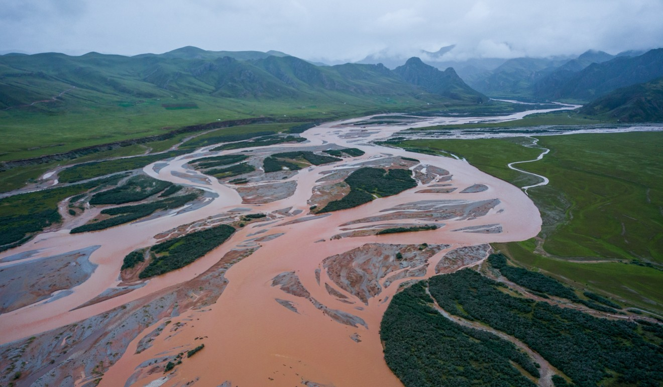 Daqu River where Travis Winn operates rafting tours in Three Rivers' Source National Park. Photo: Wang Heng