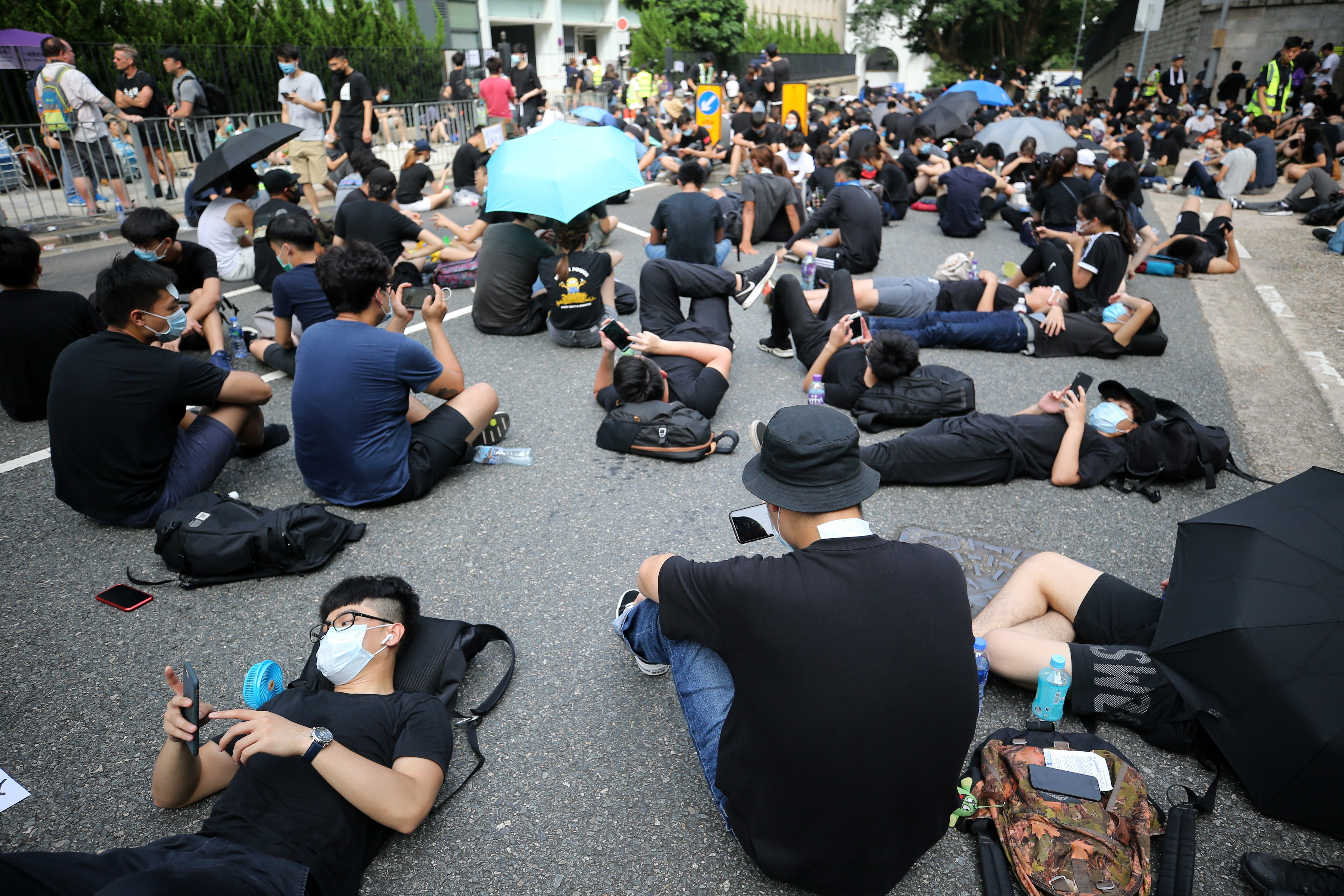 Hong Kong Reddit': how leaderless extradition protests took a lead