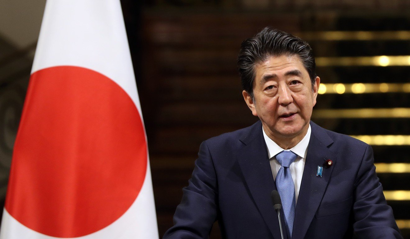 Japanese Prime Minister Shinzo Abe. Photo: AFP