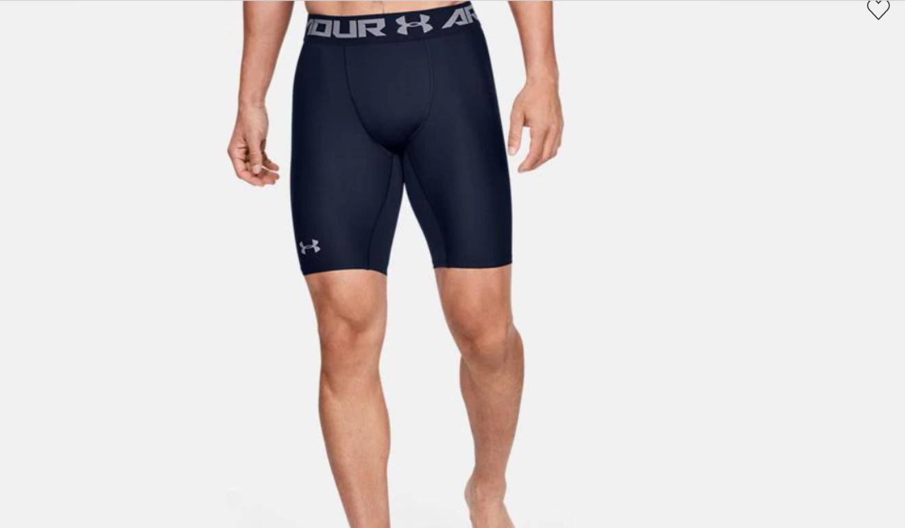 HeatGear shorts are thin, so they help keep you cool. Photo: Under Armour