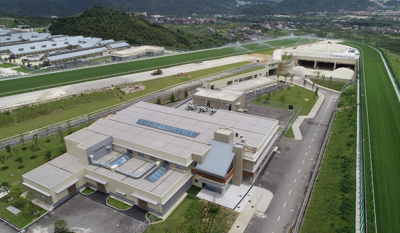 Overview of the facilities at Conghua training facility. Photo: HKJC