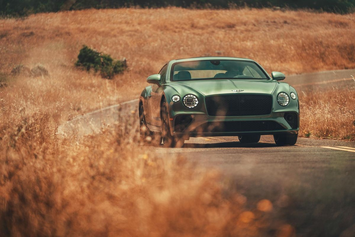 We review the new 2020 Bentley Continental GT V8, and it's a