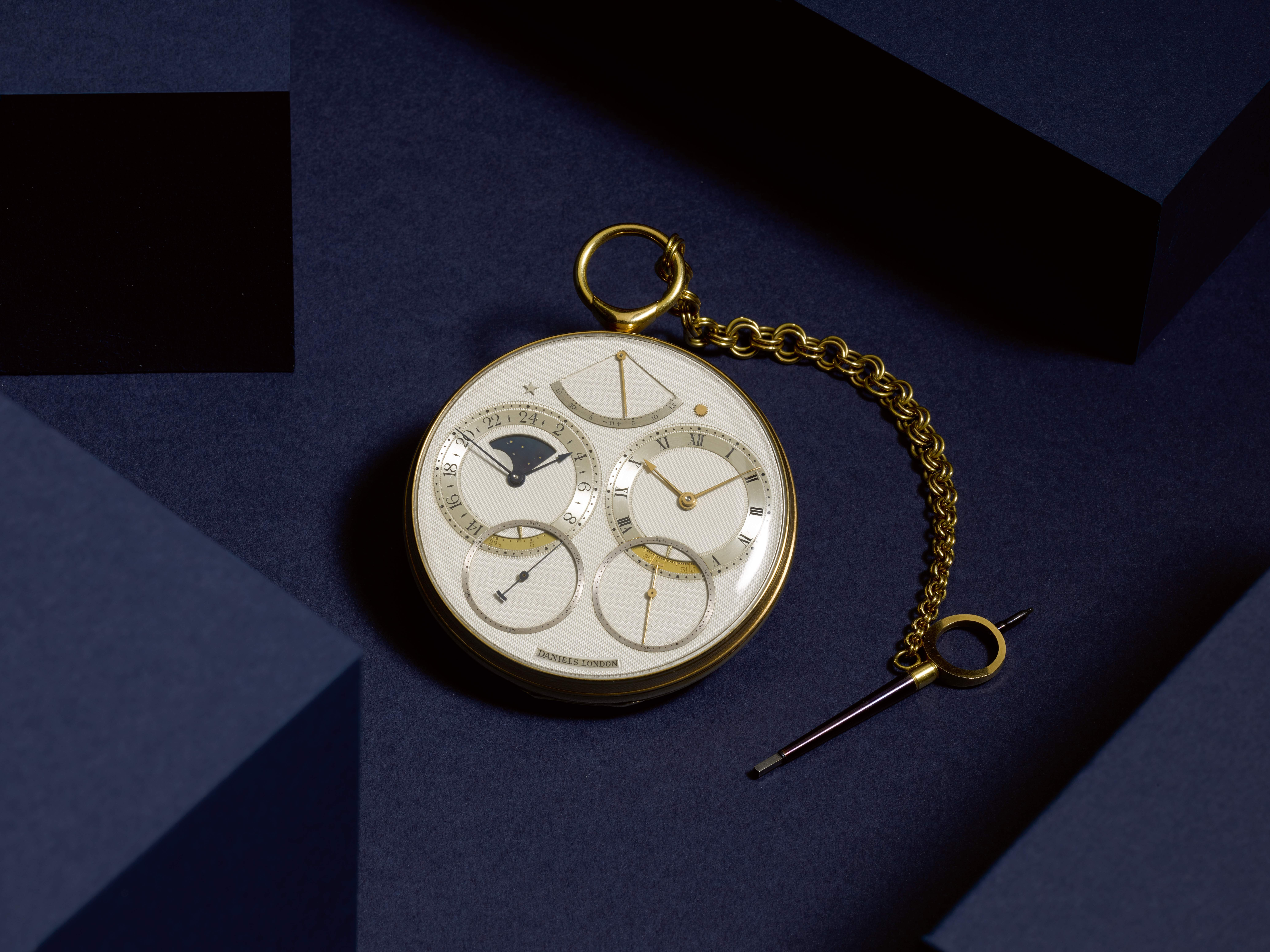 George Daniels Space Traveller 1 pocket watch, inspired by