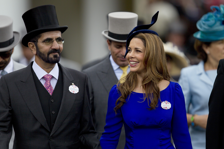 683230f68d Princess Haya Bint al-Hussein, wife of Dubai's billionaire ruler Sheikh  Mohammed bin Rashid al-Maktoum, is hiding in London, British media reports  say