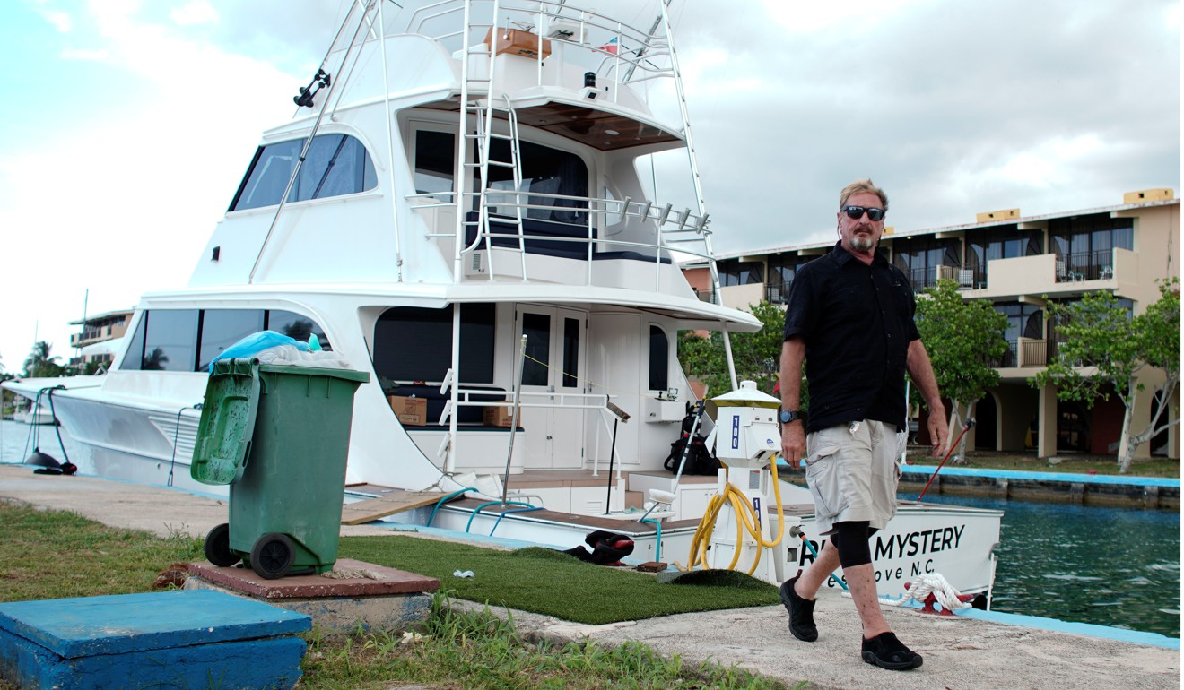 Fugitive millionaire antivirus guru John McAfee plans US presidential run … from yacht in Cuba