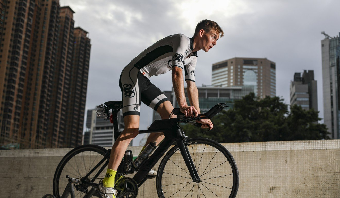Hong Kong triathlete Oscar Coggins now looks like a lock to represent Hong Kong at Tokyo 2020. Photo: Xiaomei Chen
