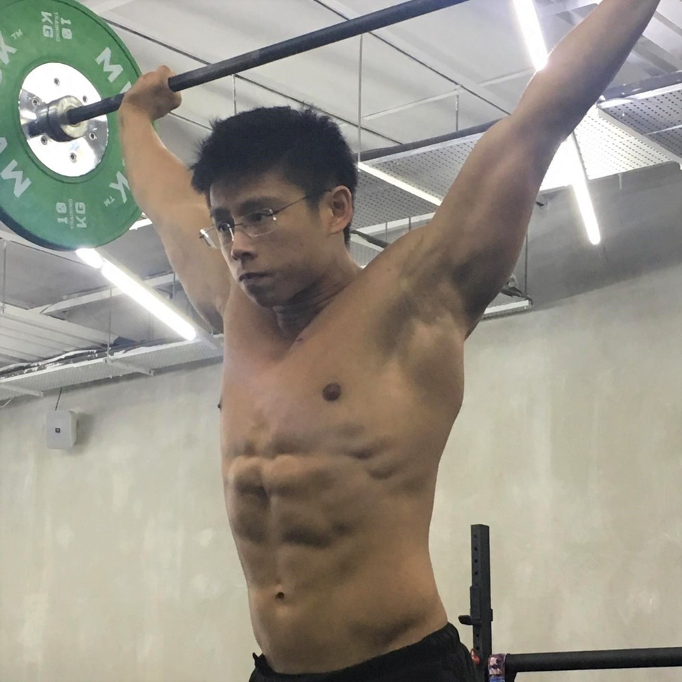 Ian Wee said handling medical school and CrossFit training is all about proper time management. Photo: Handout