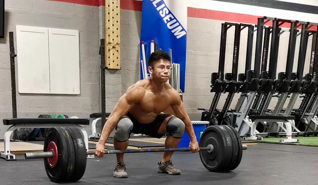 Ian Wee also used to compete as a body builder. Photo: Handout