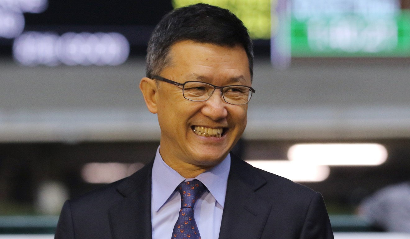Trainer Peter Ho.