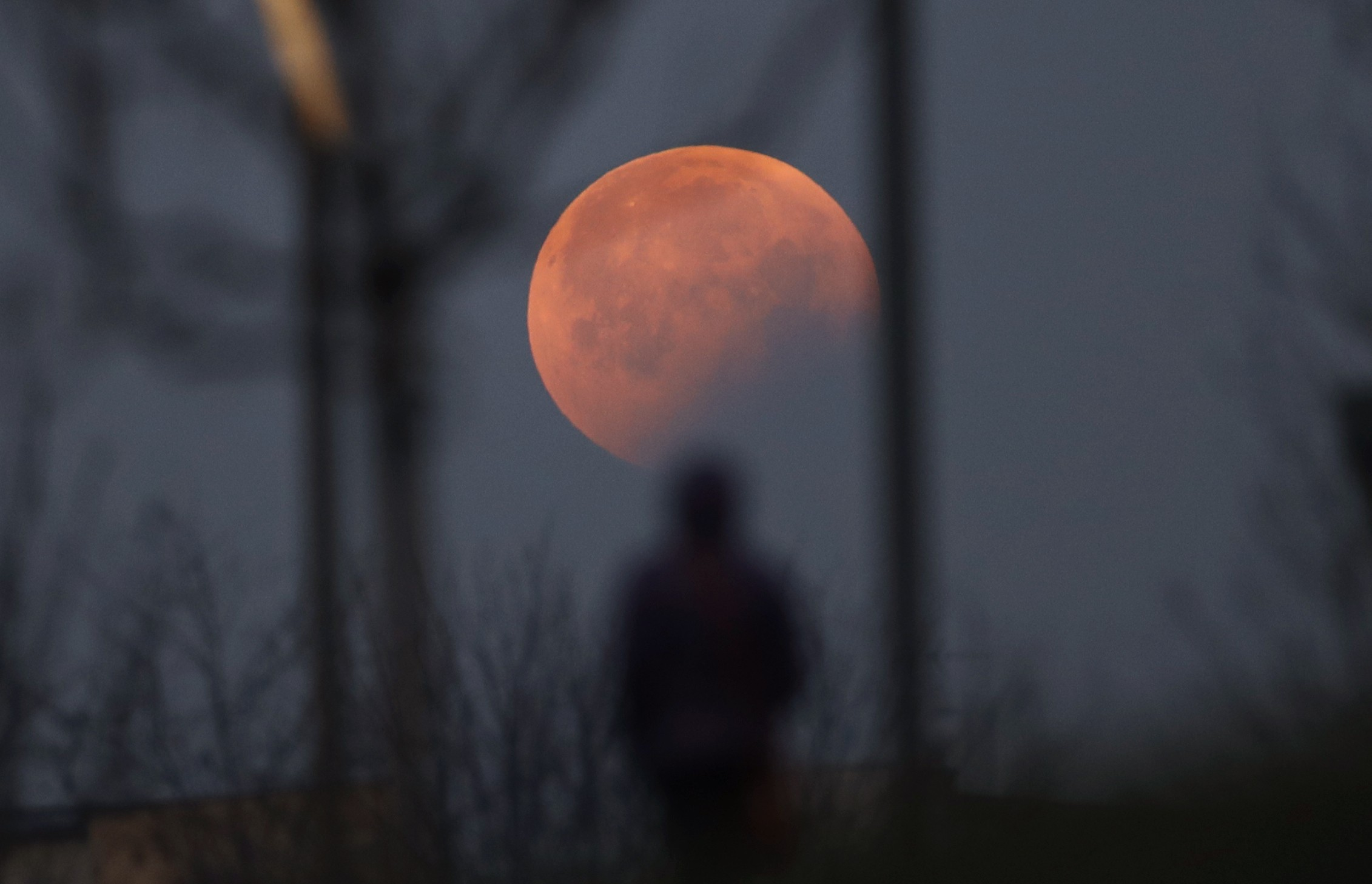 Half-blood moon eclipse over Asia: best time to see the