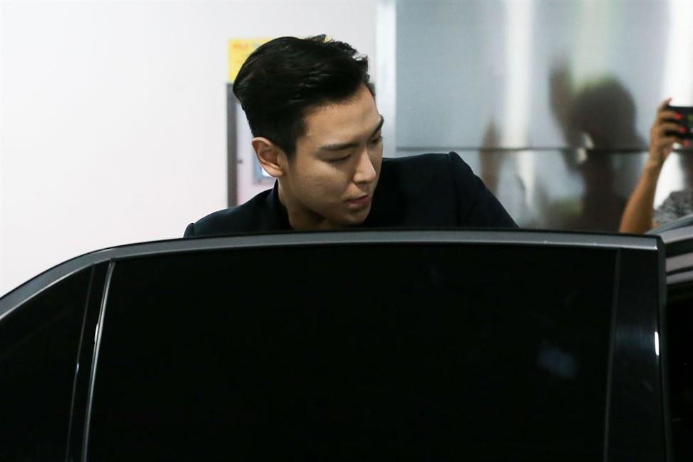 K-pop star T. O. P of boy band Big Bang puts marijuana conviction behind him and completes military service
