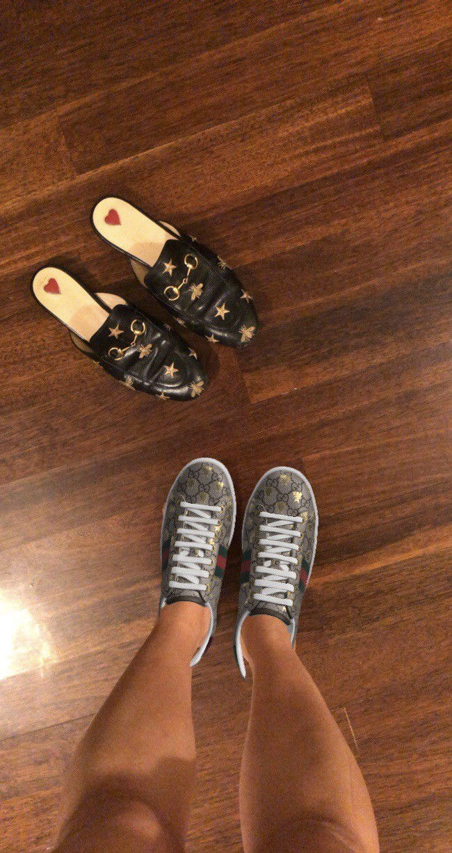 09d6ee9a7 Now you can 'try on' Gucci's Ace sneakers using an augmented reality ...