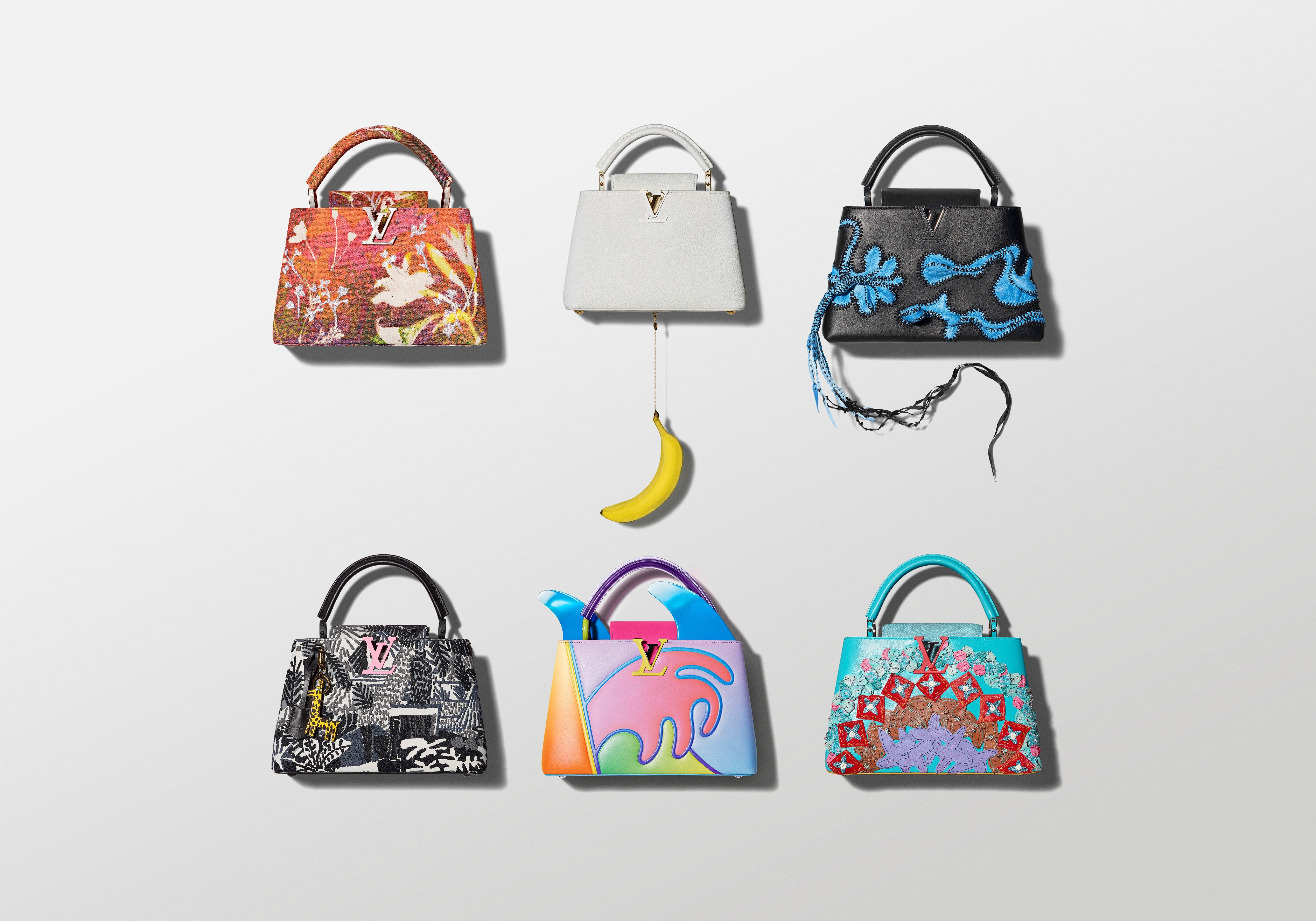 925175c8f5 What makes Louis Vuitton's Artycapucines bags works of art?   South ...