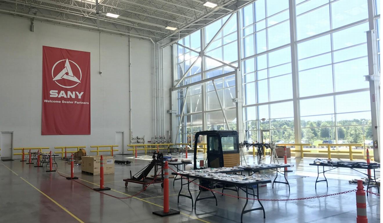 The headquarters of Sandy America in Peachtree City, Georgia. Photo: Yujing Liu