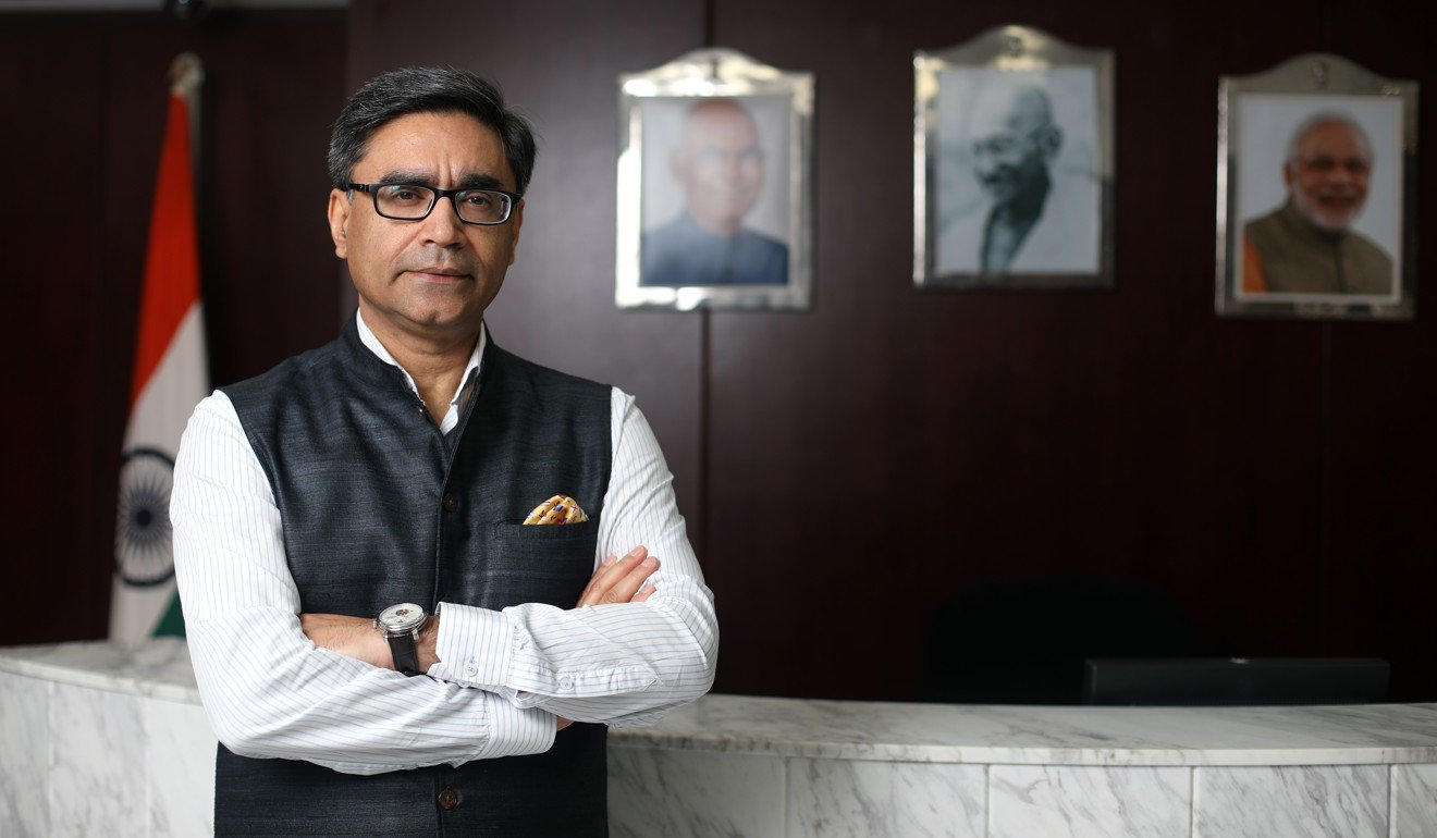 Indian ambassador to China Vikram Misri said New Delhi's concerns on the Belt and Road Initiative were clear. Photo: Xiaomei Chen