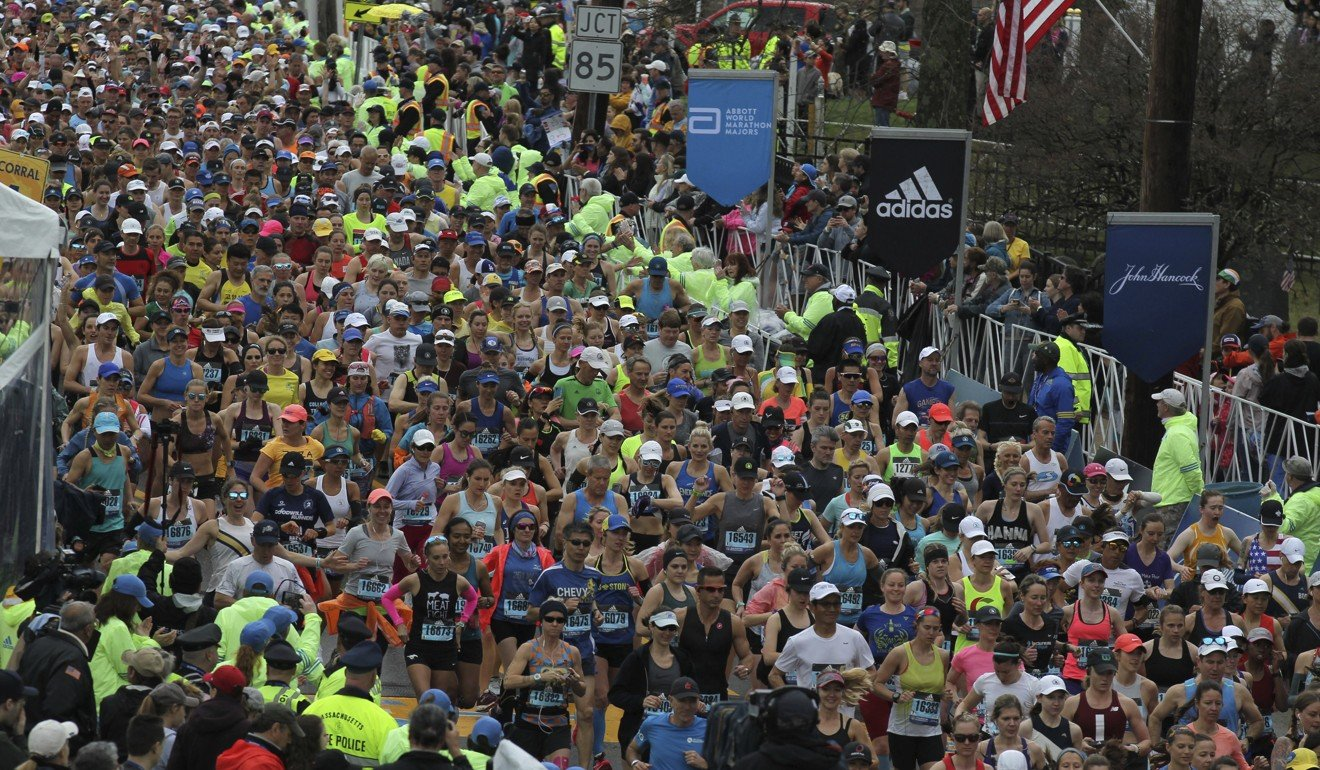 The Boston Marathon is one of the most popular in the world. Photo: AP