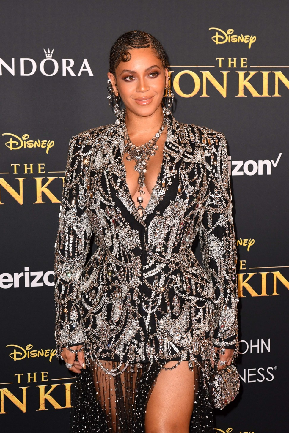 Beyoncé and Blue Ivy dazzle at Lion King premiere in matching Alexander McQueen outfits