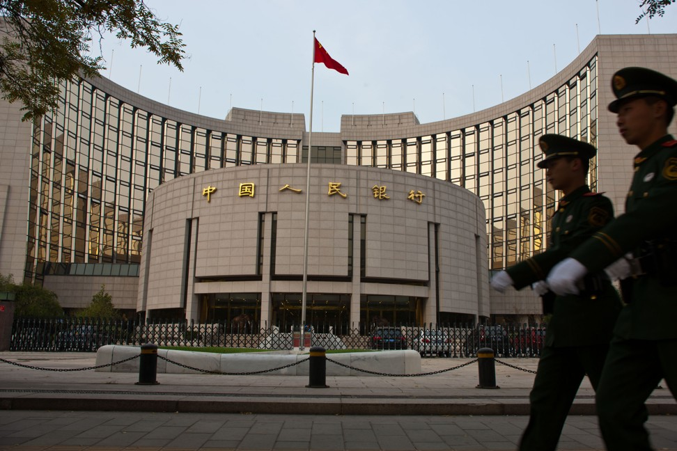The People's Bank of China is China's central bank. Photo: Xinhua