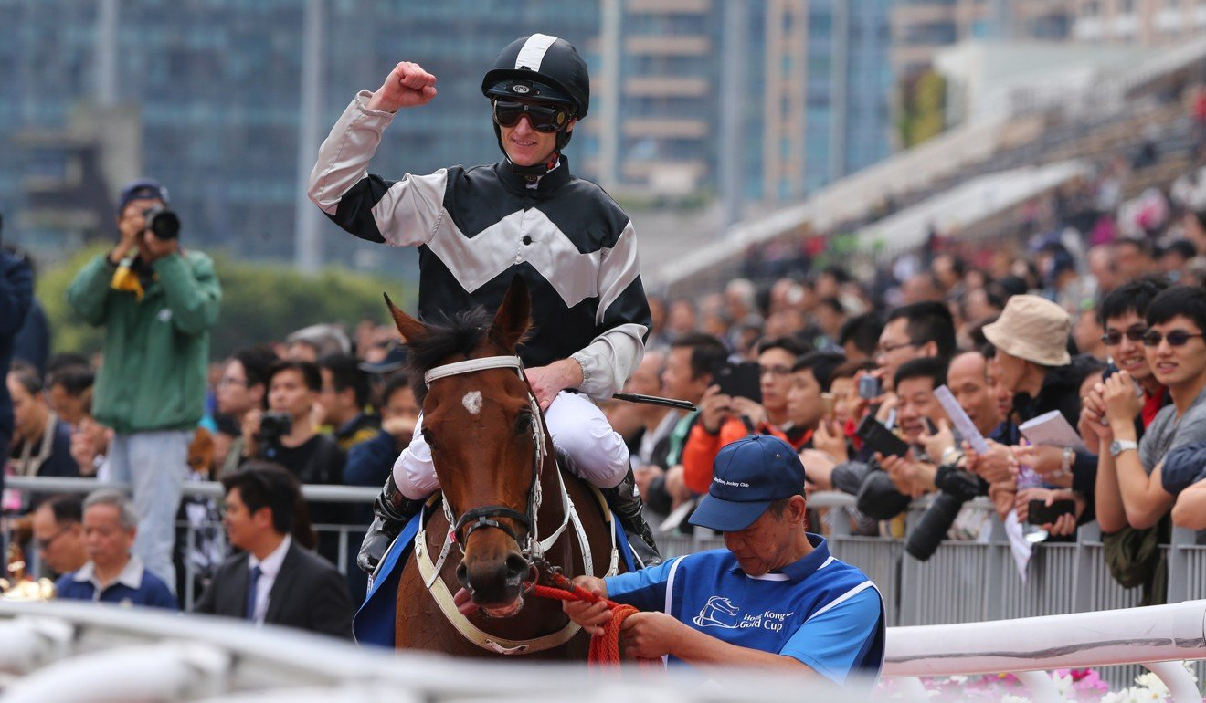 Exultant returns to scale after taking out the Group One Citi Hong Kong Gold Cup.