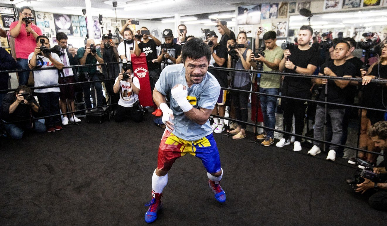 Manny Pacquiao vows 'this fight will not last 12 rounds' ahead of Keith Thurman showdown