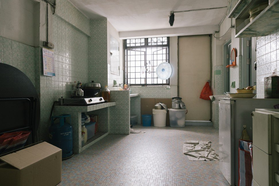 A kitchen from one of the series' public housing flats. Photo: HBO Asia