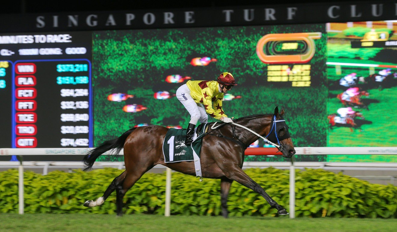 Southern Legends wins the Kranji Mile in Singapore.