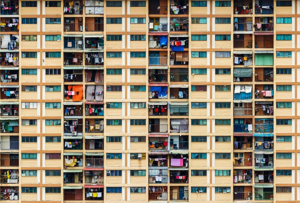 A public housing block in Singapore. Photo: Alamy