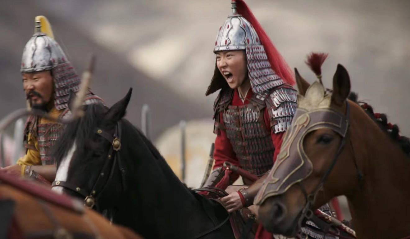 Liu in a scene from Mulan. Photo: Handout