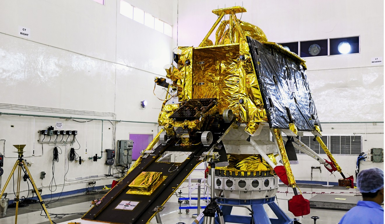 India's first lunar landing mission Chandrayaan-2 prepares to blast-off
