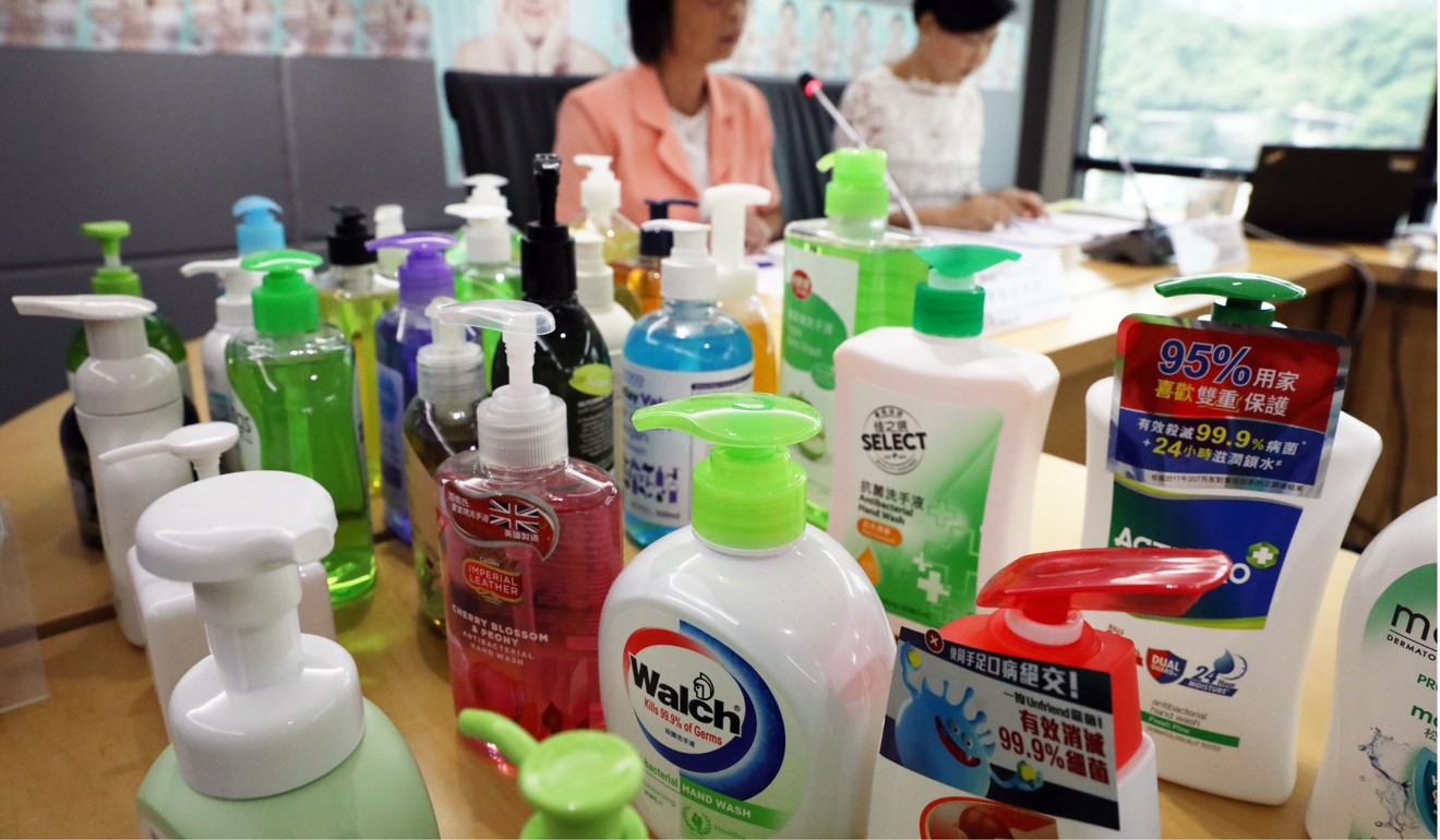 The Consumer Council tested 35 products. Photo: Nora Tam