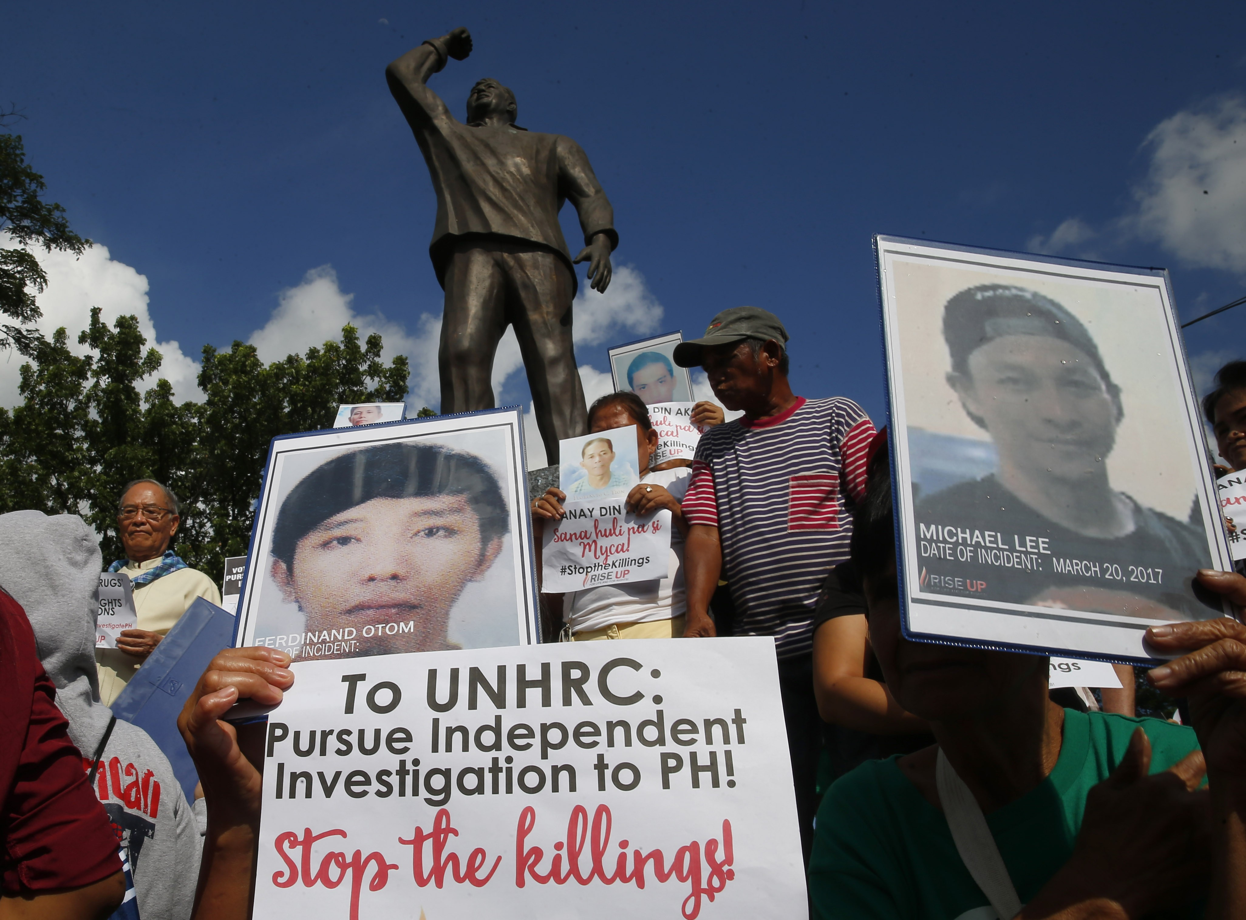 Philippines won't quit UN rights council or sever ties with