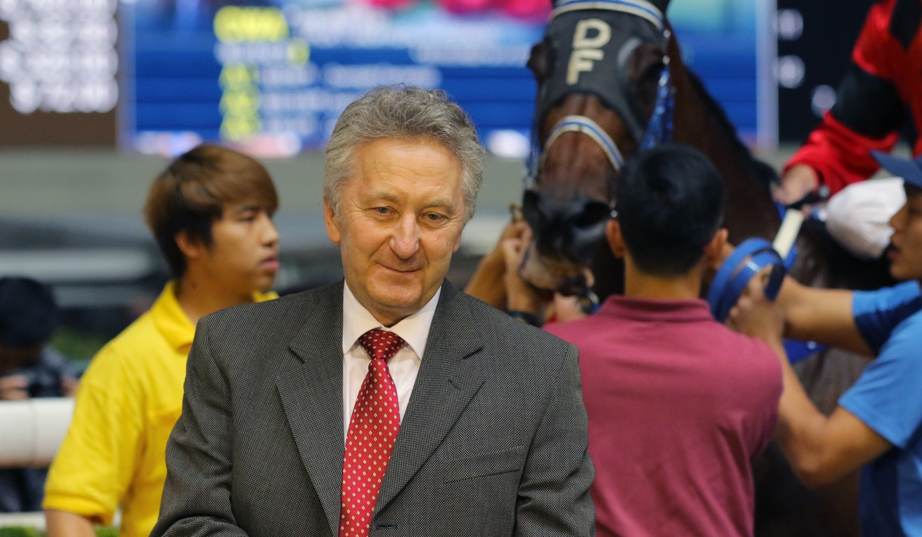 David Ferraris has lamented the uneven playing field for trainers without stables at Conghua.