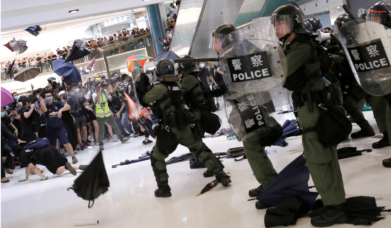 Hong Kong's biggest developer faces backlash from extradition bill protesters who blame it for violent clashes with police in group's upmarket Sha Tin mall