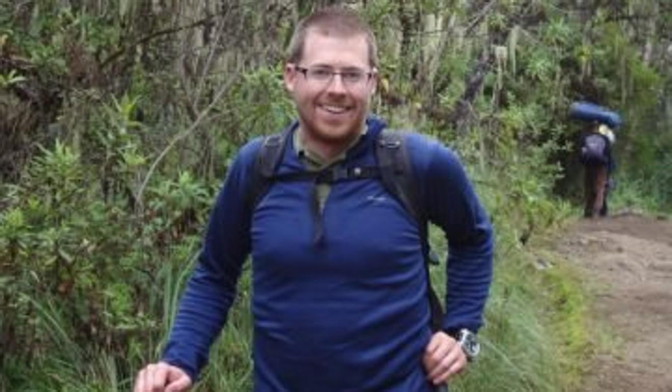 Jeff Campbell, before his Hong Kong trail-running metamorphosis. Photo: Handout