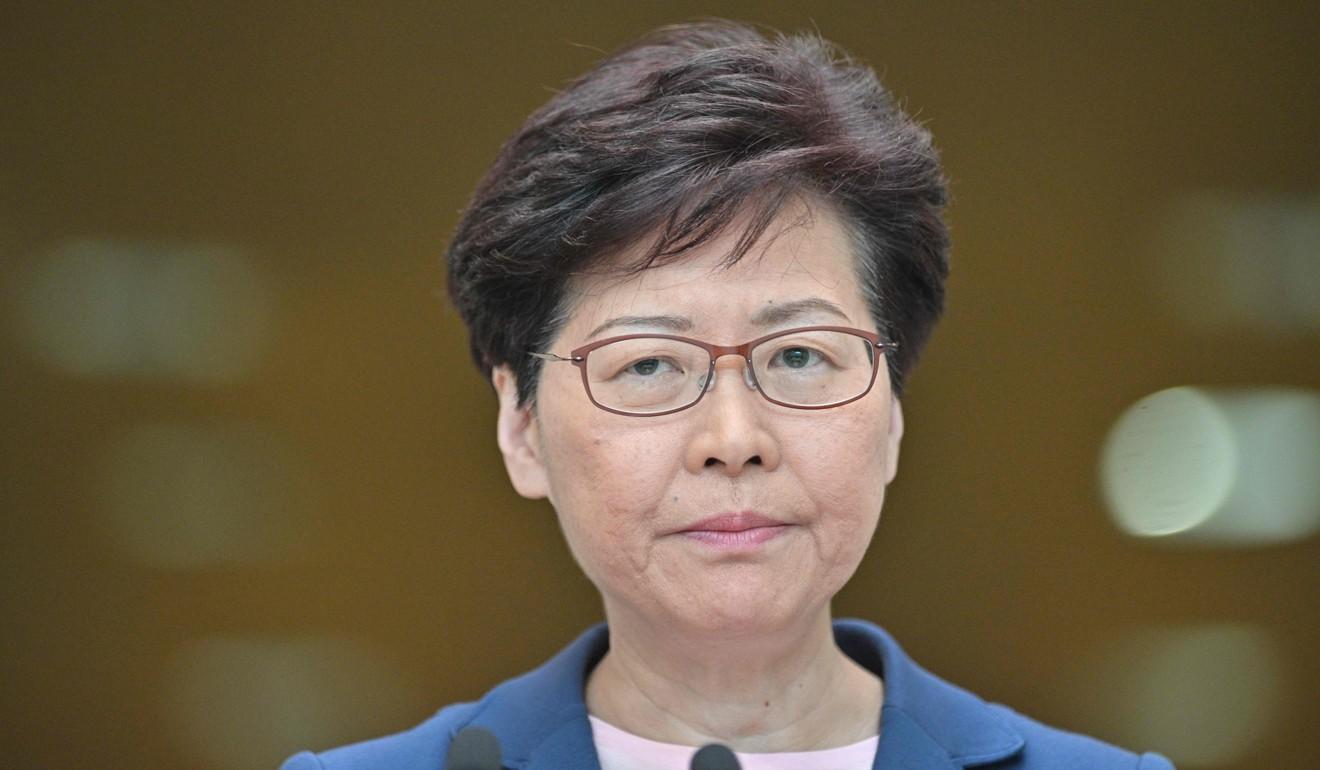 Hong Kong Chief Executive Carrie Lam. Photo: AFP