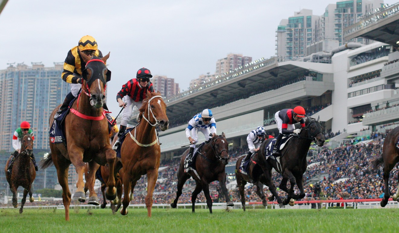 Glorious Forever wins the Hong Kong Cup (2,000m).