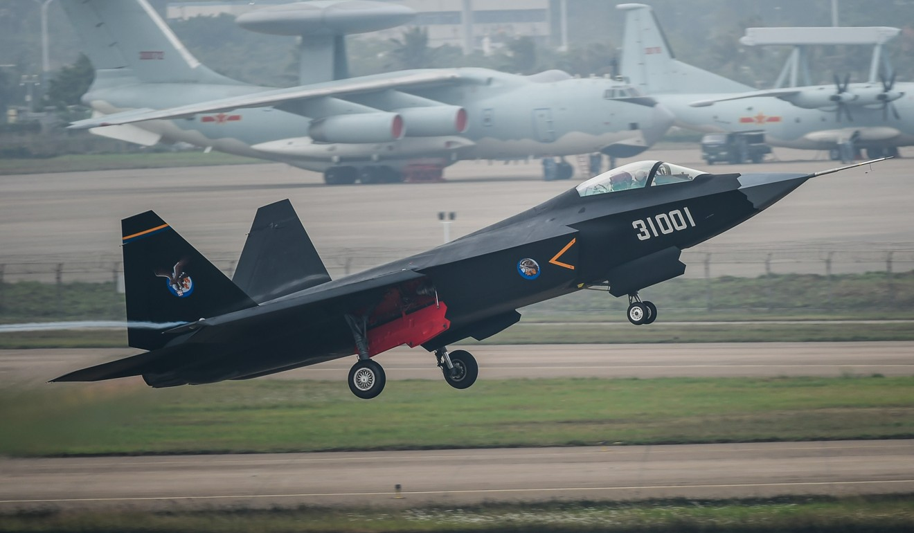 China's stealth aircraft engineers in race to build best jet for nation's aircraft carriers