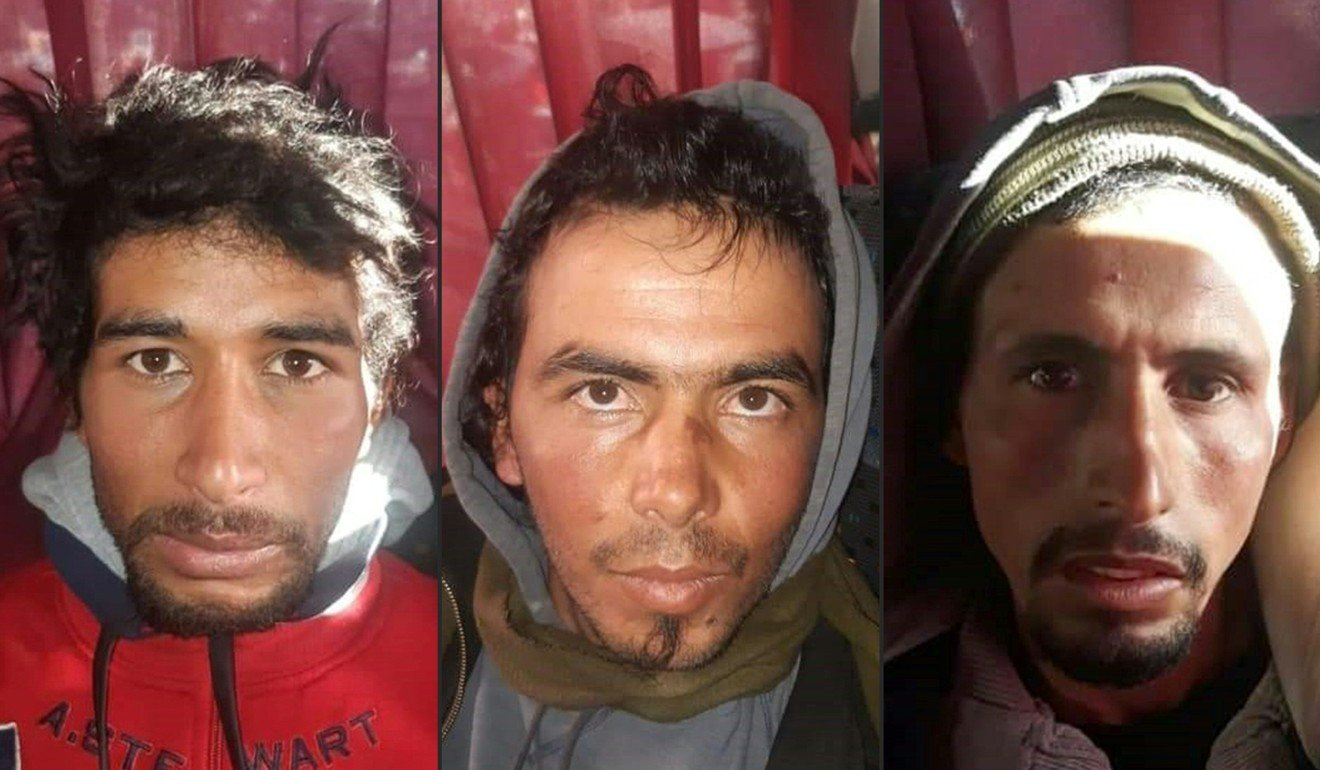 Three Islamic State supporters sentenced to death in Morocco for beheading Scandinavian hikers Louisa Vesterager Jespersen and Maren Ueland